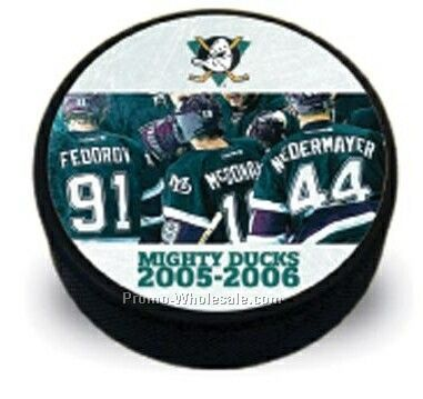 "2-7/8"" Hockey Puck (40-55 Day Shipping)"