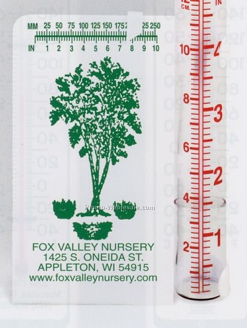 "3-1/2""x5-1/2"" Accumulation Rain Gauge"