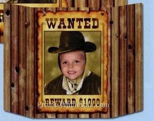 "37""x25"" Wanted Poster Photo Prop"
