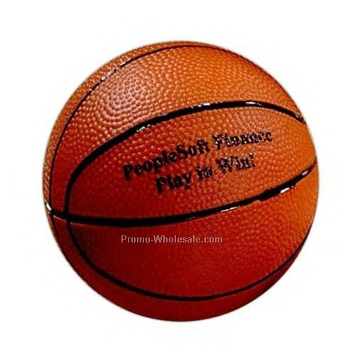 4 Inch Rubber Basketball