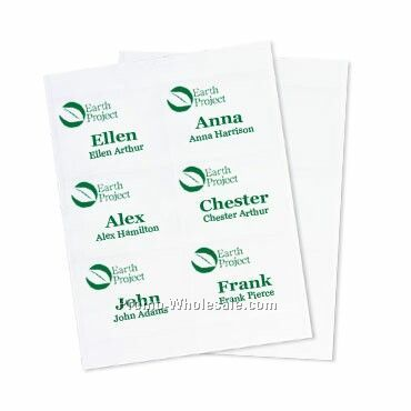 4x3 Recycled Insert - 1 Color Imprint