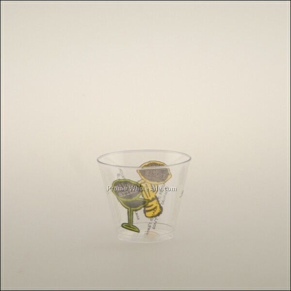5 Oz. Clear Plastic Rocks Cup