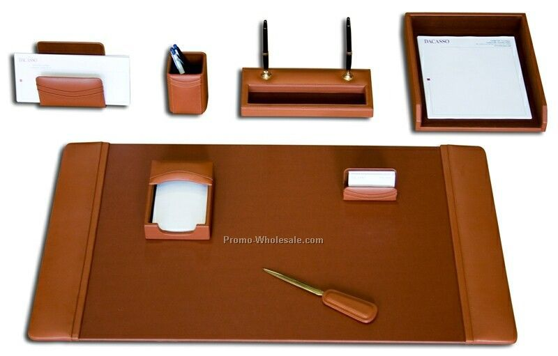 Leather Desktop Organizer Desk Ideas