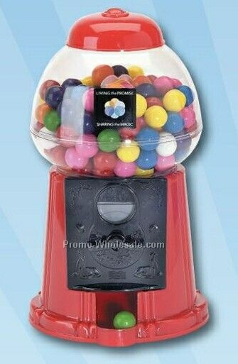 Bubble Gum Machine - 9""