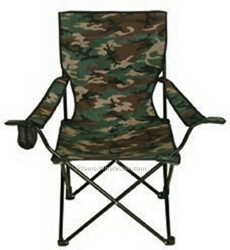 High Quality Camouflage Folding Chair W/ Carry Bag