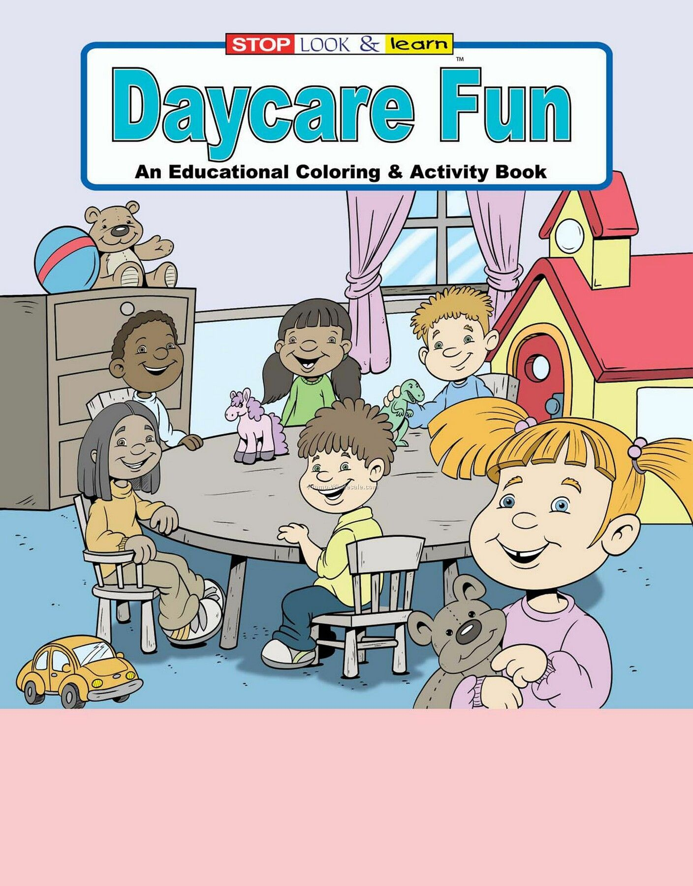Daycare Fun Coloring And Activity Book Fun Pack
