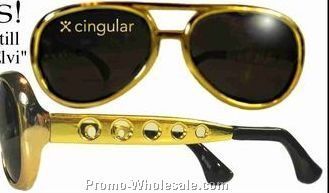 Elvis Style Novelty Sunglasses