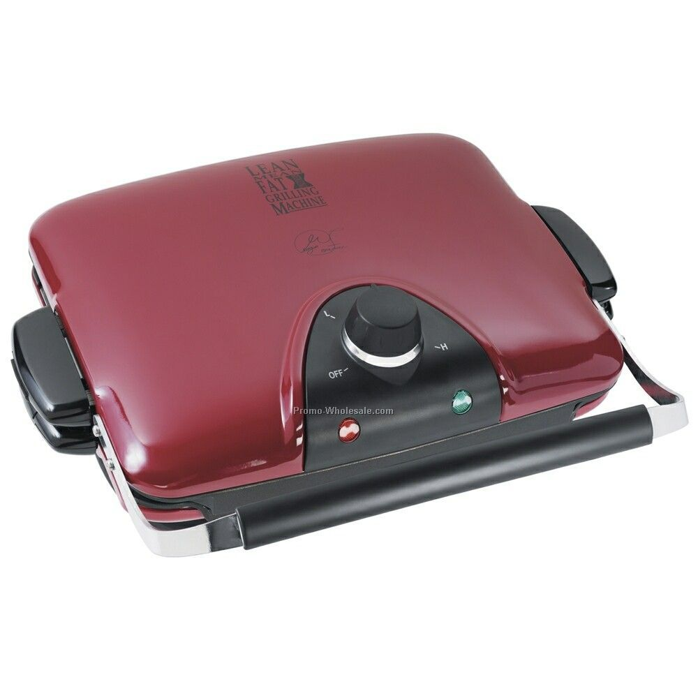 George Foreman Grill W/ 84 Square Inch Cooking Surface (Red)