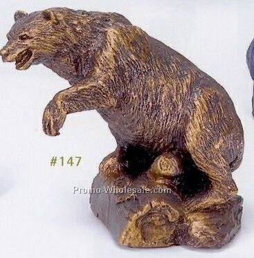 Grizzly Bear Wildlife Sculpture