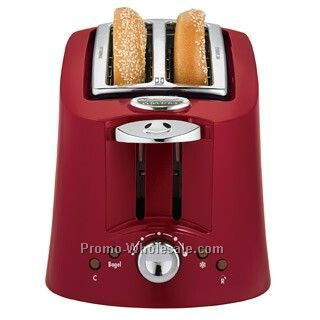Hamilton Beach Eclectrics Carmine Red Toaster