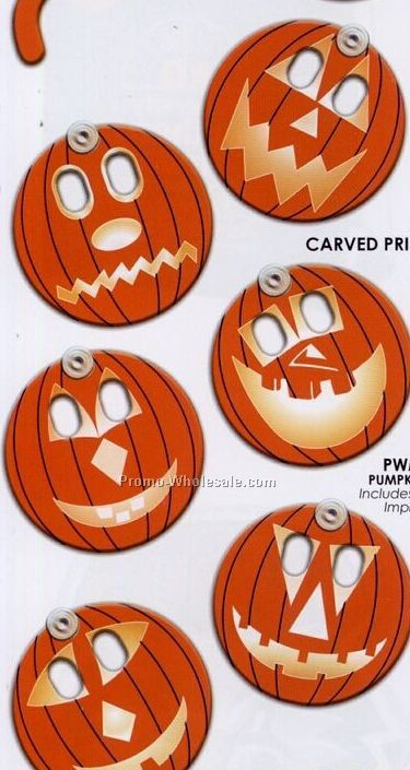 Holiday Fun Pumpkin Window Signs (Standard Print)