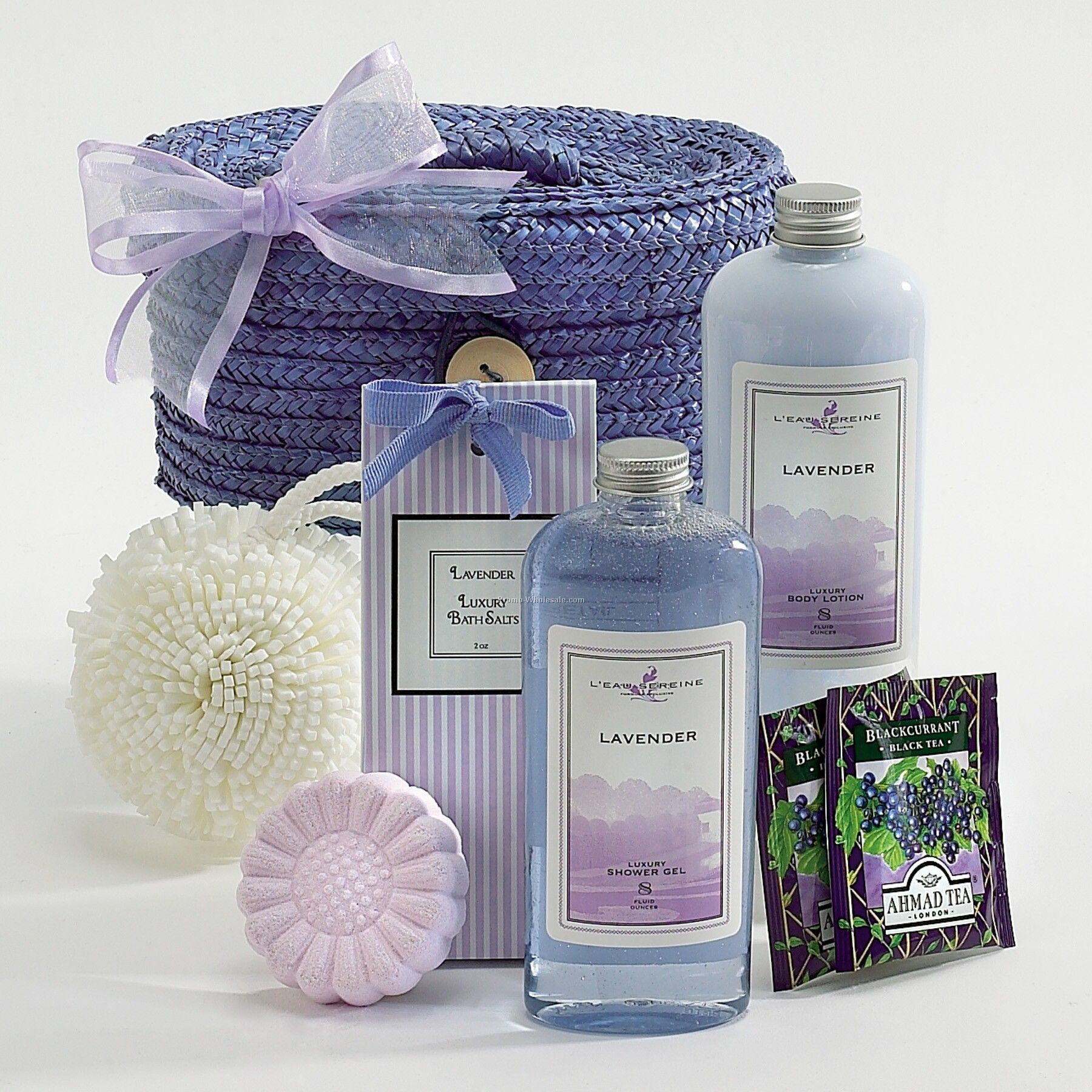 Luxurious Lavender Spa Gift Basket