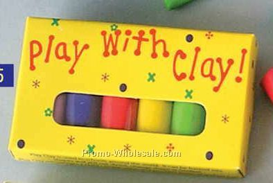 Play With Clay 6-pack