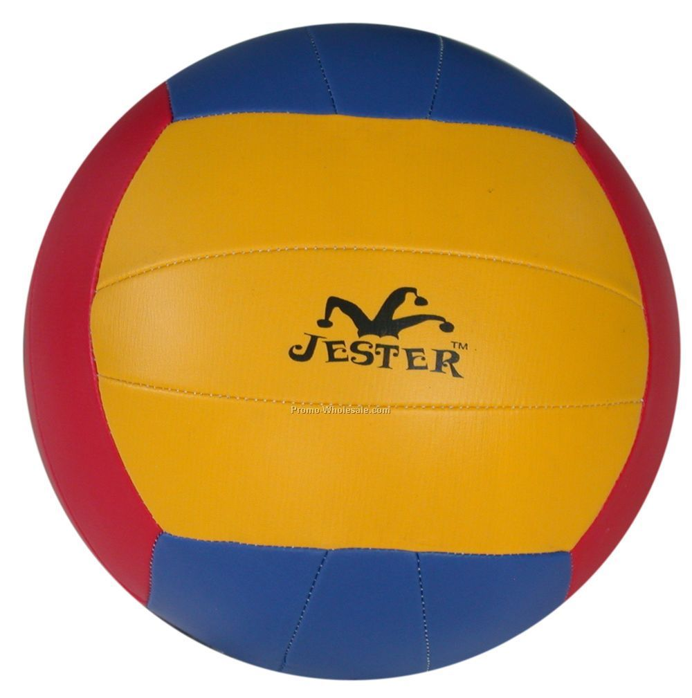 "Promotional Beach Volleyball, 8"" Official Size, 18 Panel"