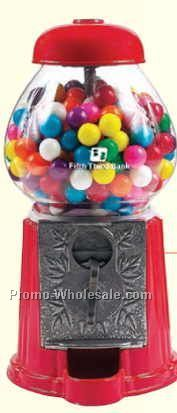 "Red 11"" Gumball / Candy Dispenser Machine"