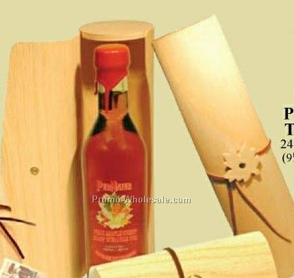 Sour Sweet Maple Vinegar In Papyrus Tubulus Wood Package