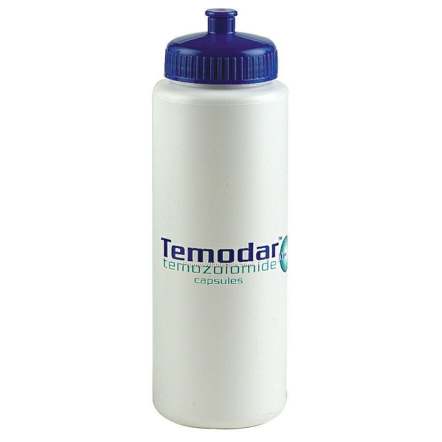 Flip top cap plastic pastic water bottle sippon