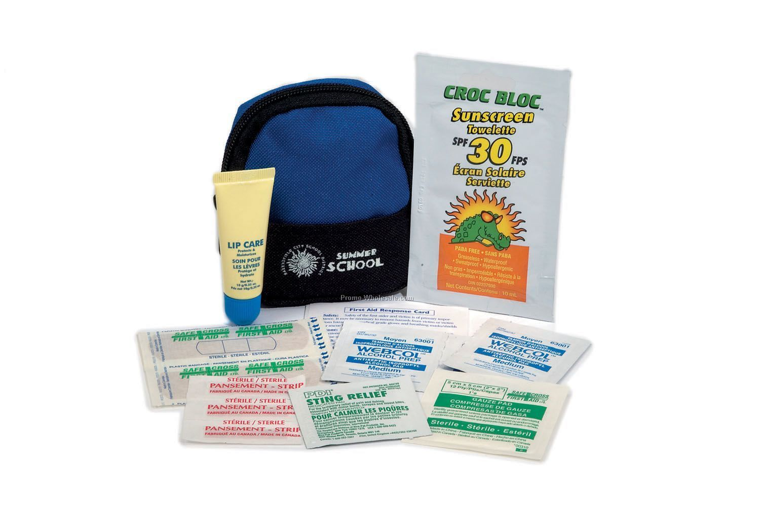 Summer Safety Kit In Mini Backpack