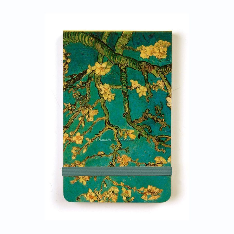 Vincent Van Gogh Almond Blossoms Mini Journal 6-pack