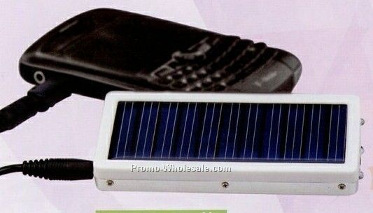 "1-3/4""x3-3/4""x1/2"" Solar Powered Cell Phone Charger"