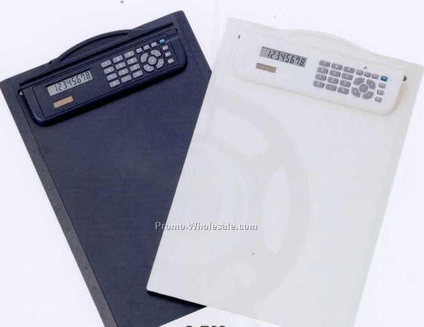 "14""x9"" Clipboard Dual Power Calculator"