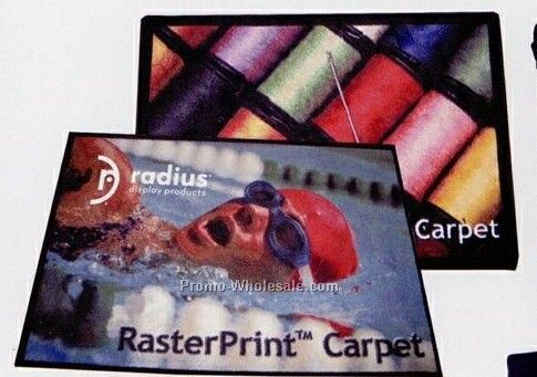 24 Oz. Rasterprint Carpet (Per Square Feet)