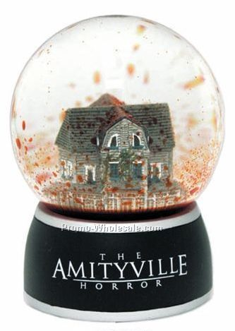 "3-5/32"" Diameter Liquid Mini Snowglobe"
