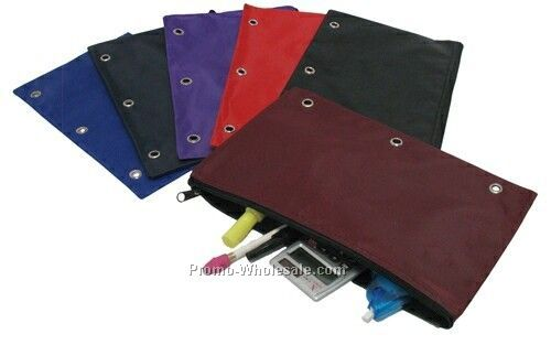 3 Ring Binder Pouch - 420d