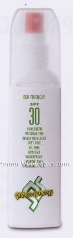 4 Oz. Sunscreen Spray With Natural Insect Repellent (Custom Label)