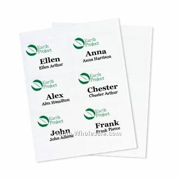 "4""x3"" Recycled Insert-2 Color Imprint"