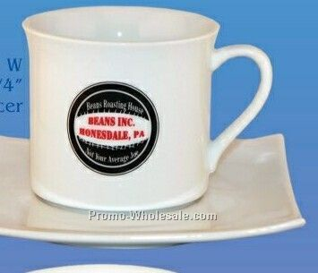 9 Oz. Cup & Square Saucer