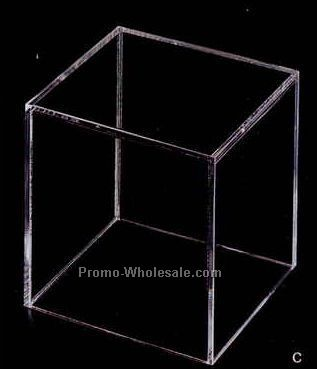 "Acrylic Rectangle Display Box - 12""x8""x8"" (Not Shown)"