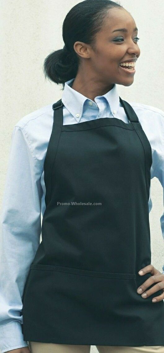 Adjustable Bib W/3 Pocket /Blank