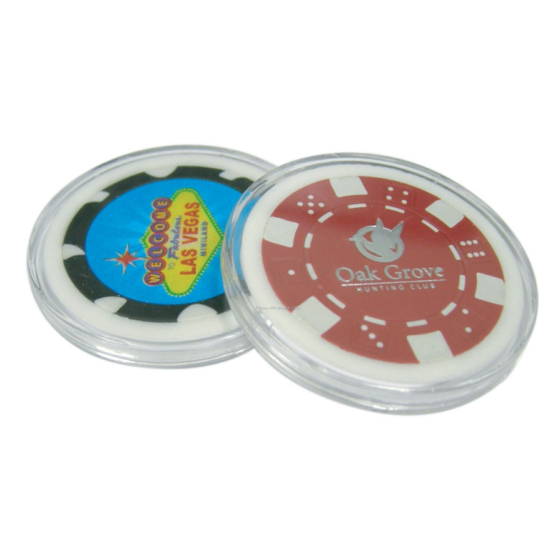 Clear Acrylic Poker Chip Case