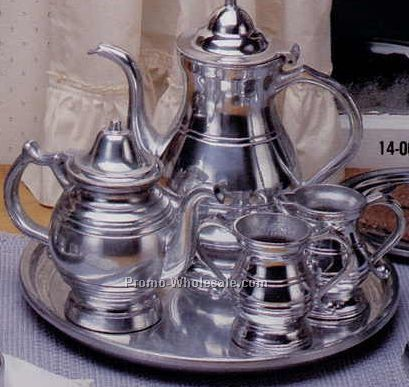Coffee/ Tea/ Sugar/ Creamer/ Tray Set Lustra Series