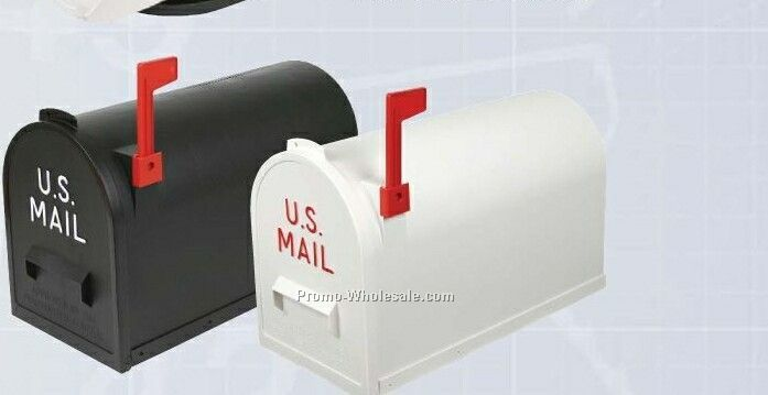 Extra Large #2 Rural Mailboxes - White (Blank)
