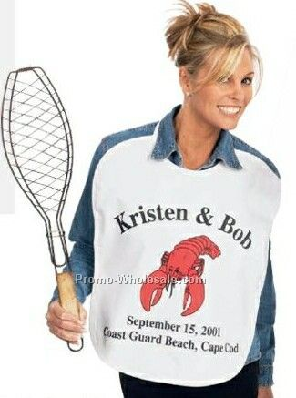 Fabric Lobster Bib (Printed)