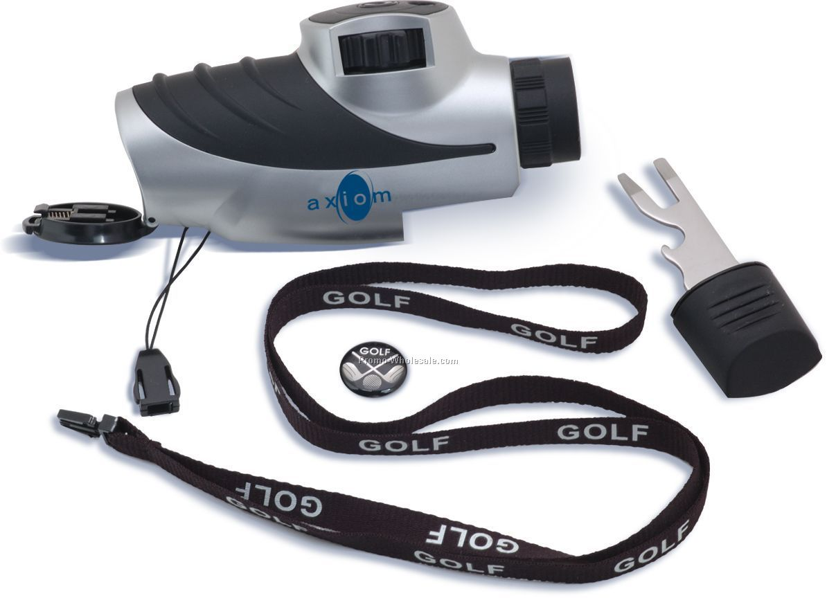 Golf Tool With Range Finder