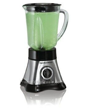 Hamilton Beach Metal Base Blender, 8 Speed, 40 Oz Glass Wave Action