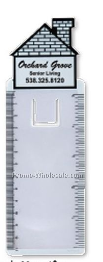 House Bookmark Magnifier/ Ruler