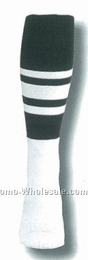 Ncaa Football Referee Heel & Toe Socks (10-13 Large)