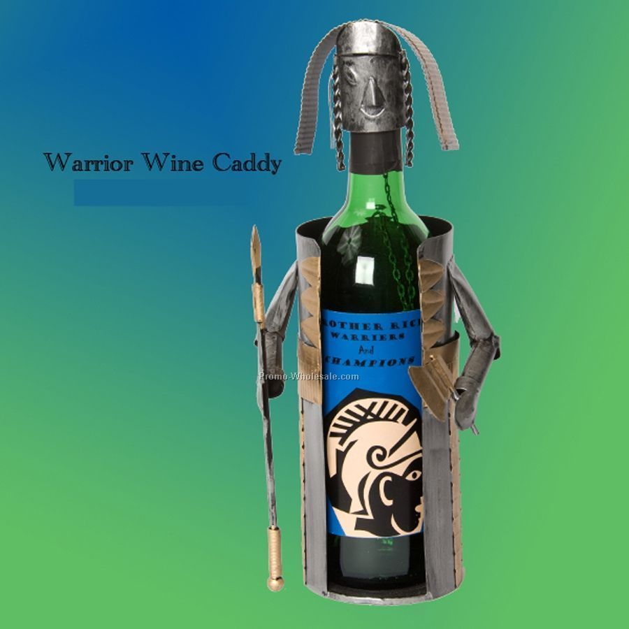 Warrior Tin Man Wine Caddy