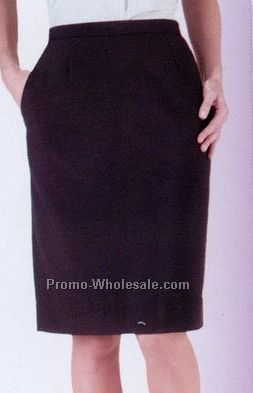 Women's Value Straight Skirt / Black / Sizes 4-20