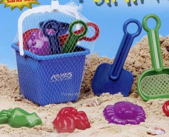 10-piece Deluxe Sand Play Set