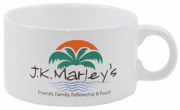 16 Oz. Decal Stoneware Devine Soup Bowl