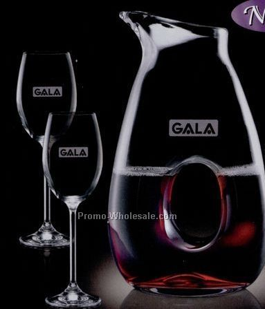 25 Oz. Gerrard Carafe & 2 Wine Glass