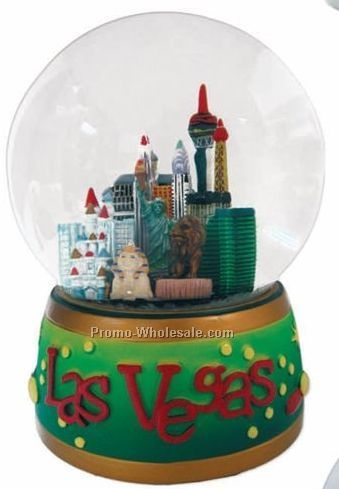 "4"" Diameter Liquid Mini Snowglobe"