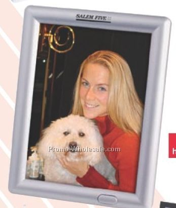 "6-1/4""x8-1/8""x3/4"" Recording/Talking 5""x7"" Photo Frame - Vertical Display"