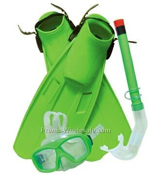 Adult Diving Sets (Mask,Snorkel,Fins)