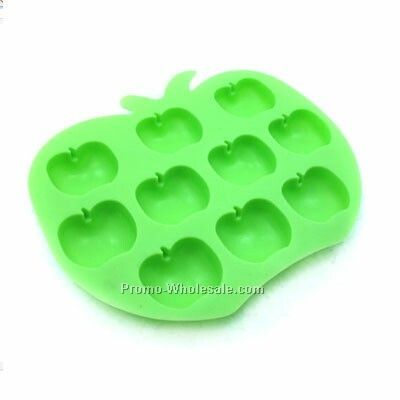 Apple Shaped Ice Cube Tray